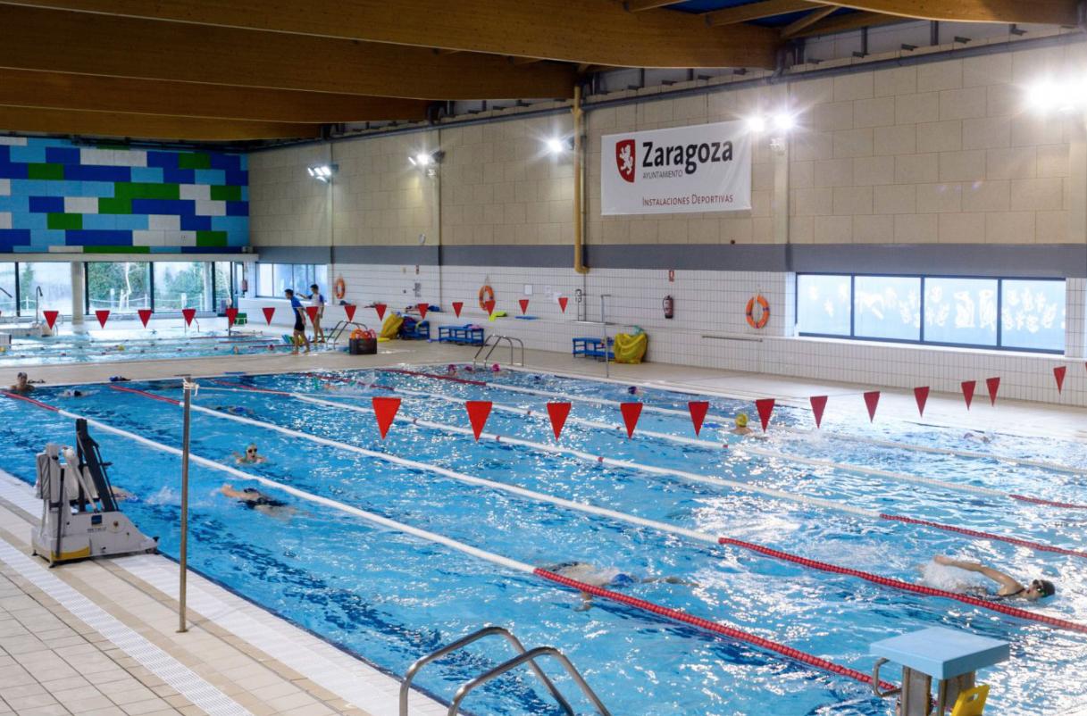 piscina para entrenamiento zaragoza