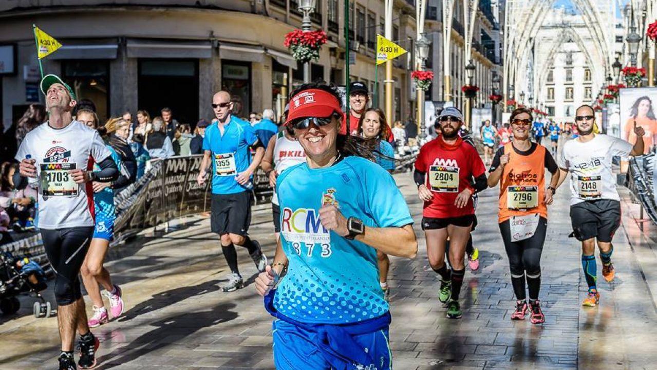 entrenadores personales Málaga maratón